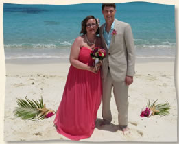 tropical island decorations for island wedding usvi