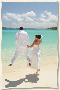 St Thomas Wedding In The US Virgin Islands At Tropical Beach Lindquist