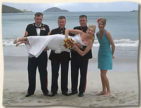 Magens Beach St Thomas Wedding