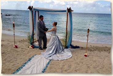 Bluebeards Beach Wedding On St Thomas Virgin Islands Weddings Island