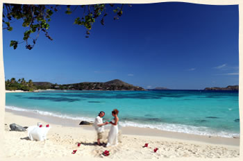 Shire Beach Virgin Islands Wedding
